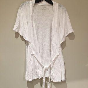 Lane Bryant Size 18/20 Short Sleeve Cardigan